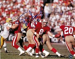 AUTOGRAPHED Steve Young #8 San Francisco 49er