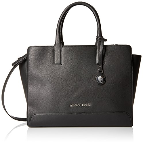ARMANI JEANS MATT SHOPPING BAG 922570CC858-00020 NERO