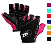 Weightlifting Gloves w/ Washable Ladi…