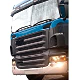 TRUCK/LORRY/VAN ALUMINIUM WINDSCREEN/WINDSHIELD FROST/SNOW/ICE PROTECTOR COVERby PA