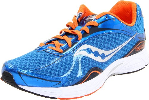 Saucony Men's Grid Fastwitch 5 Running Shoe,Blue/Orange,9 M US