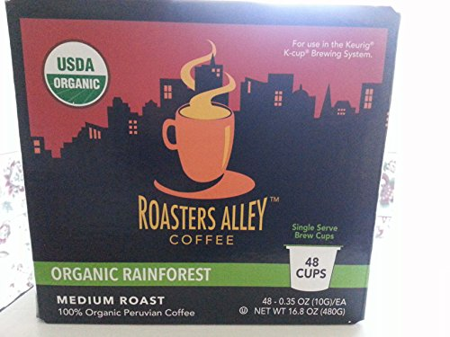 Organic Rainforest Coffee K-Cups 48 Count