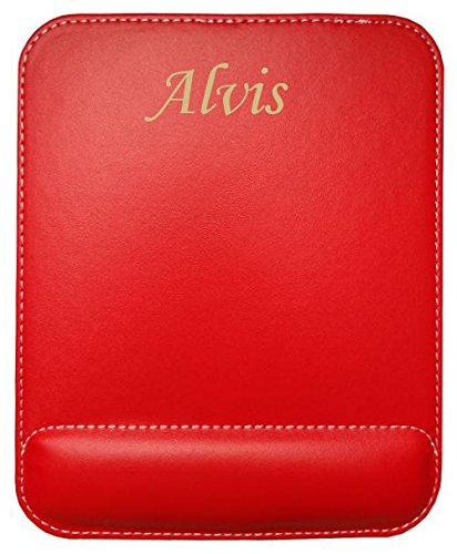 personalised-leatherette-mouse-pad-with-text-alvis-first-name-surname-nickname