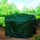 6' Foot Medium Round Patio Garden Furniture Set Cover