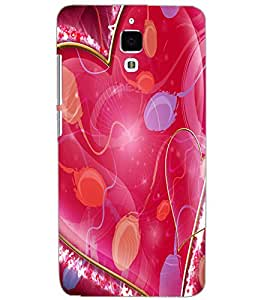 XIAOMI MI4 DUAL HEART Back Cover by PRINTSWAG