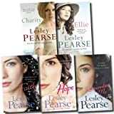 Lesley Pearse Lesley Pearse Collection 5 Books Set Faith, Hope, Remember me, Charity, Ellie PB