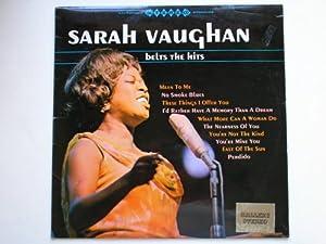 Vaughan, Sarah Belts The Hits LP Gallery DEA 1020 EX/EX 1970