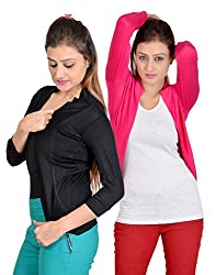sweekash women's Short shrug (Combo pack of 2)