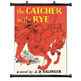 The Catcher in the Rye (J.D. Salinger) Fabric Wall Scroll Poster (16 x 25) Inches