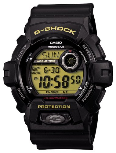 Casio G-shock Black and Green Standard Japanese Model #G8900-1