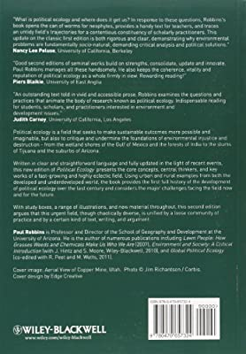 Political Ecology: A Critical Introduction, 2nd Edition (Critical Introductions to Geography)
