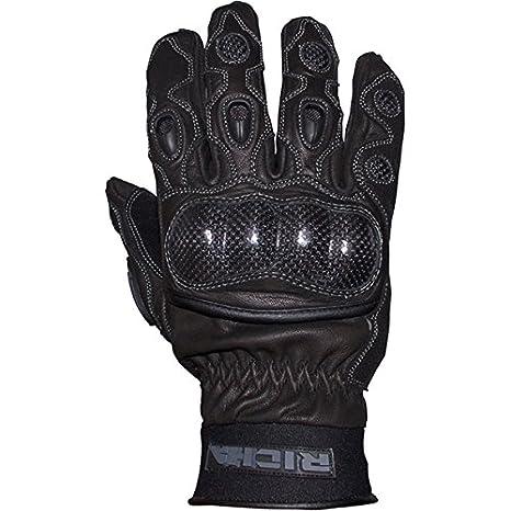 Richa Spark Sport en cuir gants de moto d'été ventilé noir noir Noir L