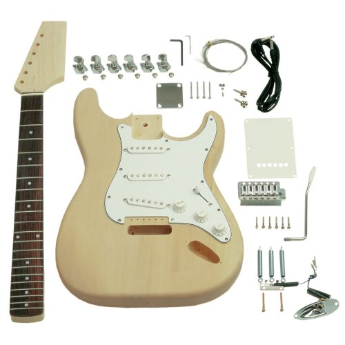Saga St-10 S Style Electric Guitar Kit