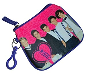 One Direction 1D Coin Purse Student ID with Hook by Accessory Innovations