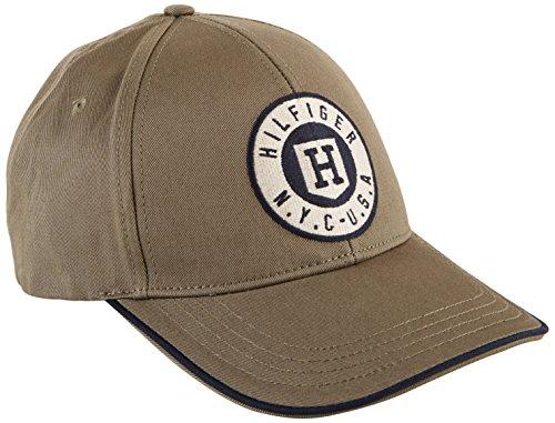 Tommy Hilfiger CLIFFDALE CAP - Berretto da baseball Uomo, Marrone (Taupe Olive 371), Taglia unica