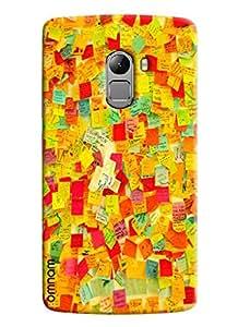 Omnam Printed Coloful Feedback Slips for Lenovo K4 Note