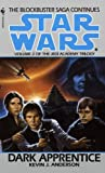 img - for Dark Apprentice: Star Wars (The Jedi Academy): Book 2 (Star Wars: Jedi Academy Trilogy (Bantam Paperback)) book / textbook / text book