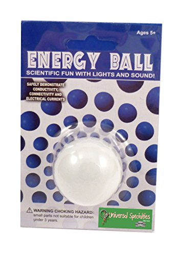 Energy Ball - 6 Pack Classroom Set Scientific Fun with Lights and Sound!