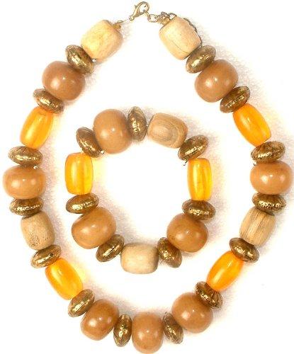 Ethnic Necklace & Bracelet Set (Fashion) -