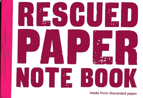 Image of Rescued paper notebook - medium - white
