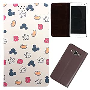DooDa - For Samsung Galaxy S Duos 3 PU Leather Designer Fashionable Fancy Case Cover Pouch With Smooth Inner Velvet