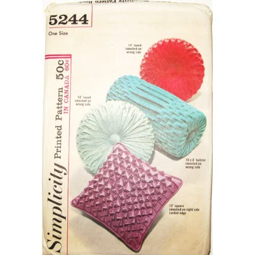 Amazon.com: Simplicity Sewing Pattern 5244 VINTAGE! 1960's