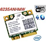 Intel Centrino Advanced-N 6235 802.11a/b/g/n 最大リング300Mbps WIFI + BlueTooth 4.0 Combo Card (6235ANHMW)
