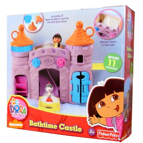 Dora the Explorer Bathtime Castle - 1