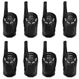 (8) Cobra MicroTalk CX101A 16 Mile 22 Channel GMRS FRS 2-Way Walkie Talkie Radios by Cobra