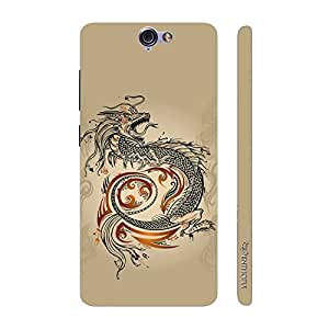 Enthopia Designer Hardshell Case Chinese Dragon Back Cover for HTC One A9