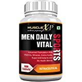 MuscleXP MultiVitamin Men Daily Sports With 49 Nutrients (6 Health Blends & Amino Acids) 90 Tablets