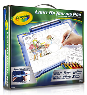 Crayola Light-Up Tracing Pad