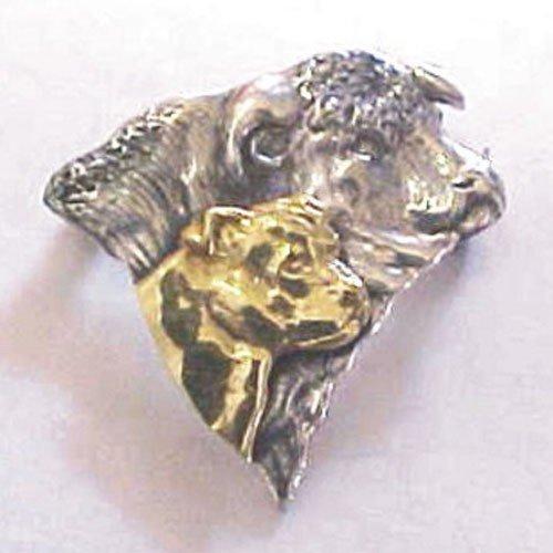 Staffordshire Bull Terrier Breed Origin Pin