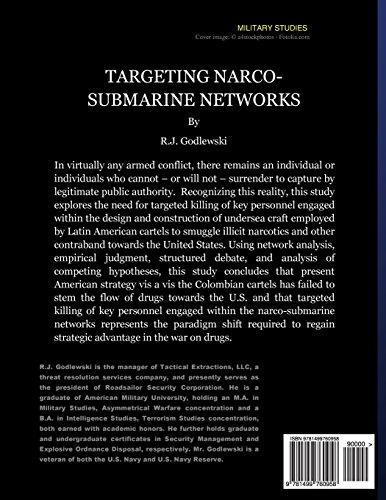 Targeting Narco-Submarine Networks: through Deep Penetration, Autonomous Maritime Irregular Warfare Units Operating within a Hunter-Killer Role