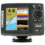 Lowrance 000-11655-001 Elite-5 CHIRP with 83/200+455/800 Transducer