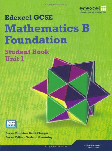 GCSE Mathematics Edexcel 2010: Spec B Foundation