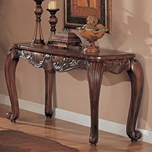 Amazon.com: Shell and Leaf Sofa Table by Coaster: Furniture & Decor