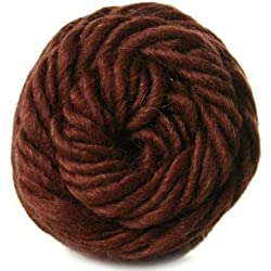 Brown Sheep Lambs Pride Yarn M89 Roasted Coffee Worsted