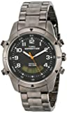 Timex Expedition Fullsize Quartz Watch with Dial Analogue - Digital Display and Stainless Steel Bracelet T49826SU