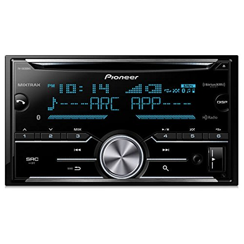 Pioneer FH-X830BHS Double Din CD Receiver with Built-In Bluetooth & HD Radio