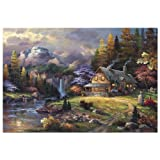 Best Buy Mountain Hideaway- 4-000 Piece Puzzle With Cheap Price