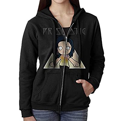 Dshfgvsl Womens Full Zip Katy Perry PRISMATIC Hoodie With Pouch Pocket