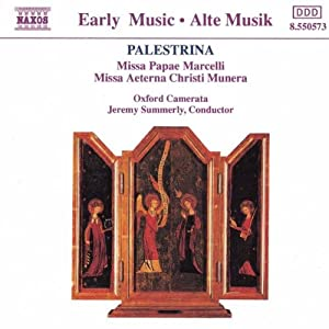 Palestrina: Missa Papae Marcelli, Missa Aeterna