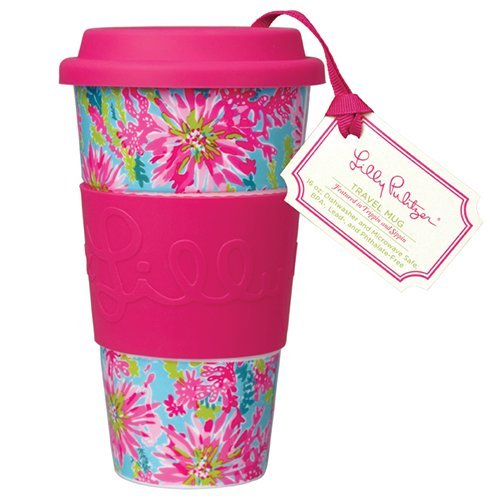 Lilly Pulitzer Travel Mug - Trippin And Sippin