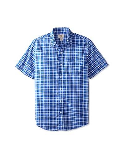 Timberland Men's Checked Short Sleeve Shirt