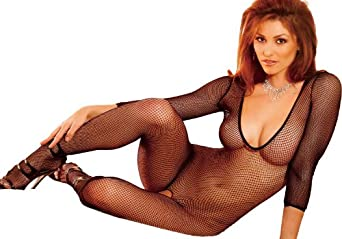 Amazon.com: EL-EH401 - Premium Beautiful Long Sleeve Crotchless Deep V