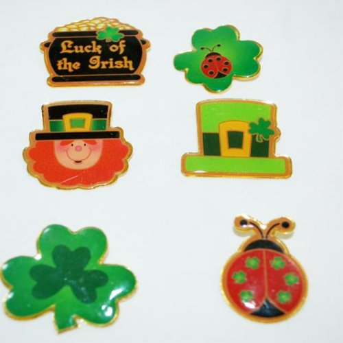 St. Patricks Day Pin Sets Case Pack 10 - 729131