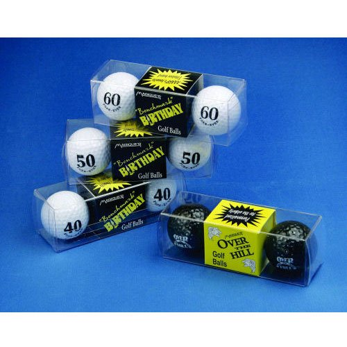 50 Fore-Ever Golf Balls (2 ct) Gag Gift (1 per package) - 1