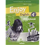 Enjoy English in 4e Palier 2 1e année A2-B1 : Workbook