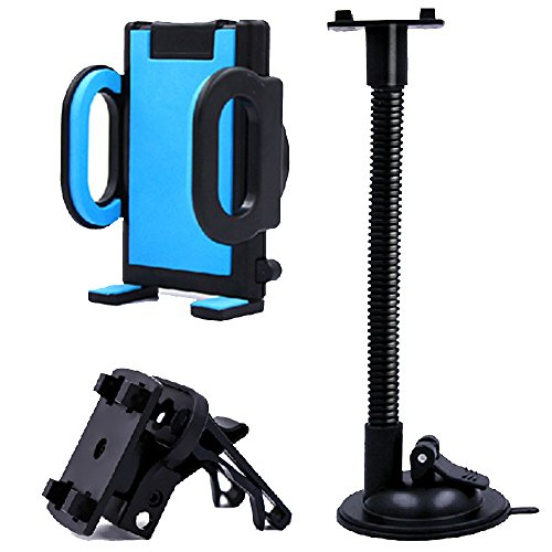 Universal Spiral Tube Mobile Phone Holder by uGen! Flexible Hose 360 Degree Vehicle Mounted Bracket Automobile Suction Cup Phone Stand. Get a nice gadget for your phone!